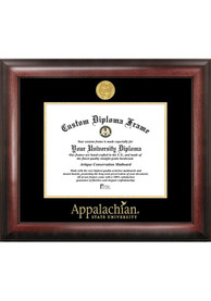Appalachian State Mountaineers Gold Embossed Diploma Frame Picture Frame