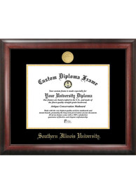 Southern Illinois Salukis Gold Embossed Diploma Frame Picture Frame