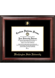 Washington State Cougars Gold Embossed Diploma Frame Picture Frame
