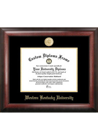 Western Kentucky Hilltoppers Gold Embossed Diploma Frame Picture Frame