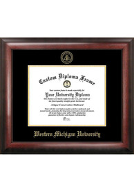 Western Michigan Broncos Gold Embossed Diploma Frame Picture Frame