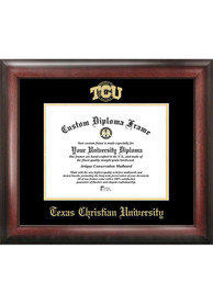 TCU Horned Frogs Gold Embossed Diploma Frame Picture Frame