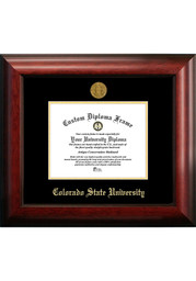 Colorado State Rams Gold Embossed Diploma Frame Picture Frame