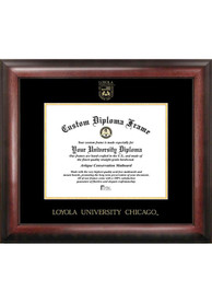 Loyola Ramblers Gold Embossed Diploma Frame Picture Frame