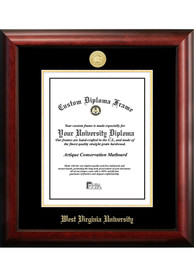 West Virginia Mountaineers Gold Embossed Diploma Frame Picture Frame