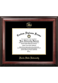 Ferris State Bulldogs Gold Embossed Diploma Frame Picture Frame