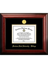 Montana State Bobcats Gold Embossed Diploma Frame Picture Frame