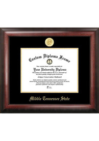 Middle Tennessee Blue Raiders Gold Embossed Diploma Frame Picture Frame
