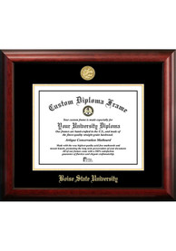 Boise State Broncos Gold Embossed Diploma Frame Picture Frame