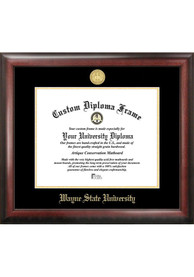 Wayne State Warriors Gold Embossed Diploma Frame Picture Frame