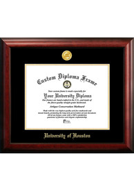 Houston Cougars Gold Embossed Diploma Frame Picture Frame