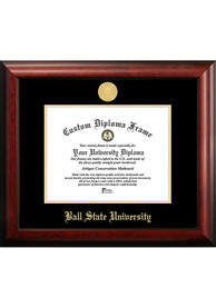 Ball State Cardinals Gold Embossed Diploma Frame Picture Frame