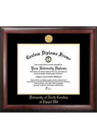 North Carolina Tar Heels Gold Embossed Diploma Frame Picture Frame