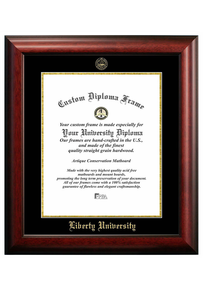 Liberty Flames Gold Embossed Diploma Frame Picture Frame 7491380