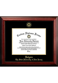 Rutgers Scarlet Knights Gold Embossed Diploma Frame Picture Frame
