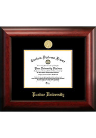 Purdue Boilermakers Gold Embossed Diploma Frame Picture Frame