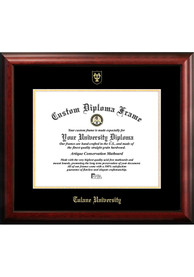 Tulane Green Wave Gold Embossed Diploma Frame Picture Frame