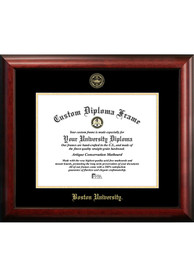 Boston Terriers Gold Embossed Diploma Frame Picture Frame
