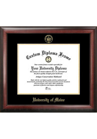 Maine Black Bears Gold Embossed Diploma Frame Picture Frame