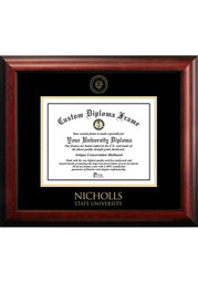 Nicholls State Colonels Gold Embossed Diploma Frame Picture Frame