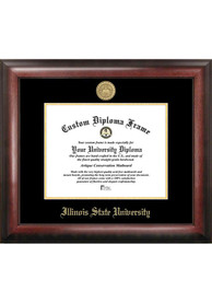 Illinois State Redbirds Gold Embossed Diploma Frame Picture Frame