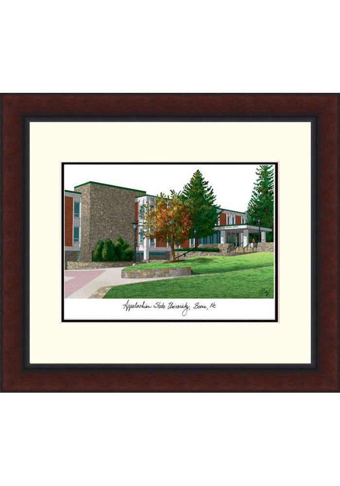 Appalachian State Mountaineers Legacy Campus Lithograph Wall Art - Image 1