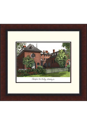 William & Mary Tribe Legacy Campus Lithograph Wall Art