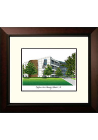 Cal State Fullerton Titans Legacy Campus Lithograph Wall Art