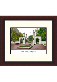 Indiana Hoosiers Legacy Campus Lithograph Wall Art
