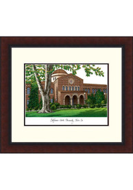 CSU Chico Wildcats Legacy Campus Lithograph Wall Art