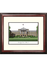 Wisconsin Badgers Campus Lithograph Wall Art