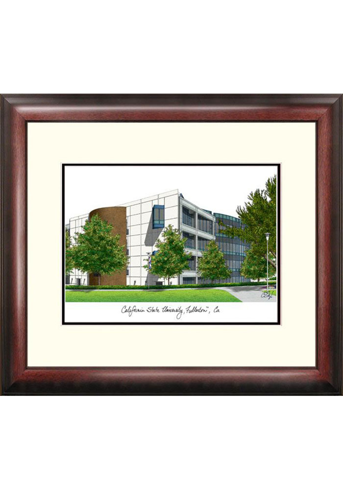 Cal State Fullerton Titans Campus Lithograph Wall Art
