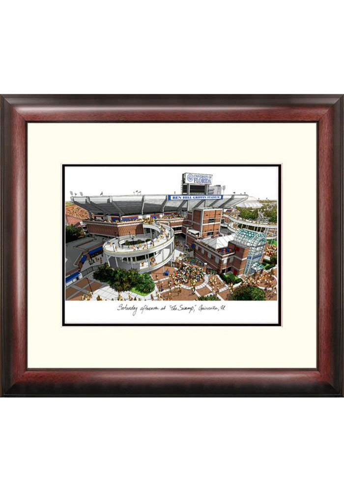 Florida Gators Campus Lithograph Wall Art - Image 1