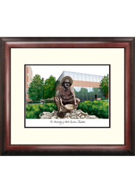 UNCC 49ers Campus Lithograph Wall Art