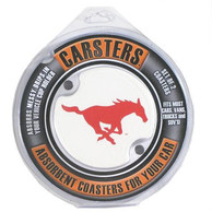 SMU Mustangs 2 Pack Car Coaster - Red