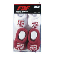 Texas A&M Aggies Baby 2pk Bootie Bootie Boxed Set - Maroon