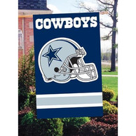 Dallas Cowboys 44x28 Blue Applique Sleeve Banner