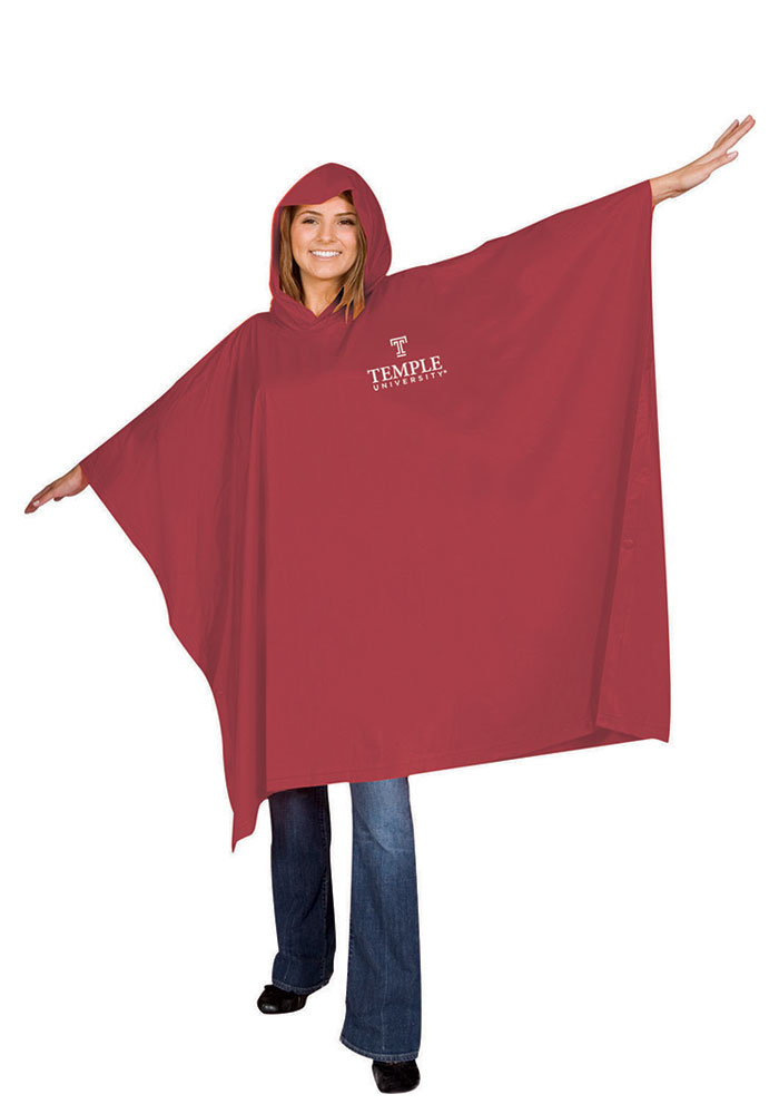 Temple Owls Light Weight Poncho - Image 1