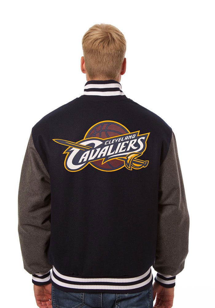 Cleveland Cavaliers Mens Blue all wool jacket Heavyweight Jacket - Image 2