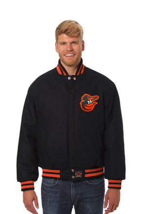 Baltimore Mens Black all wool jacket Heavyweight Jacket