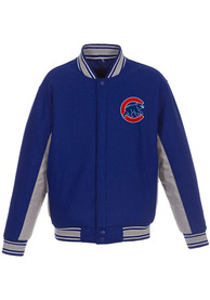 Chicago Cubs Proud Heavyweight Jacket - Blue