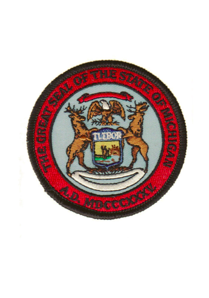 Michigan seal patch Patch - Image 1