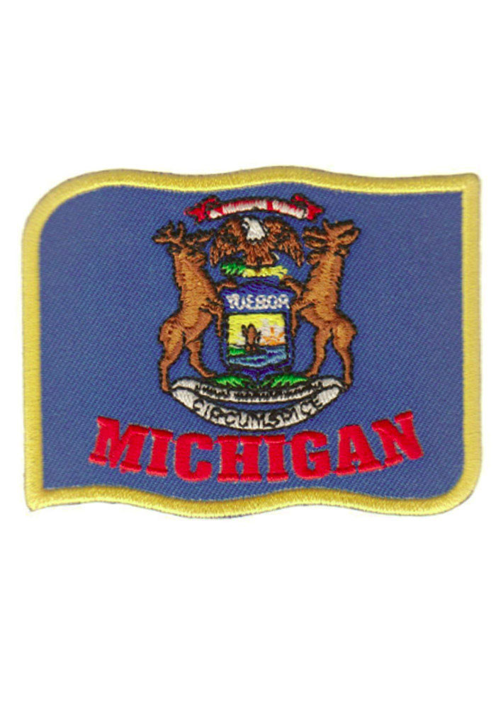 Michigan flag patch Patch - Image 1