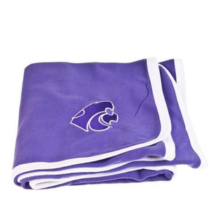 K-State Wildcats Knit Blanket
