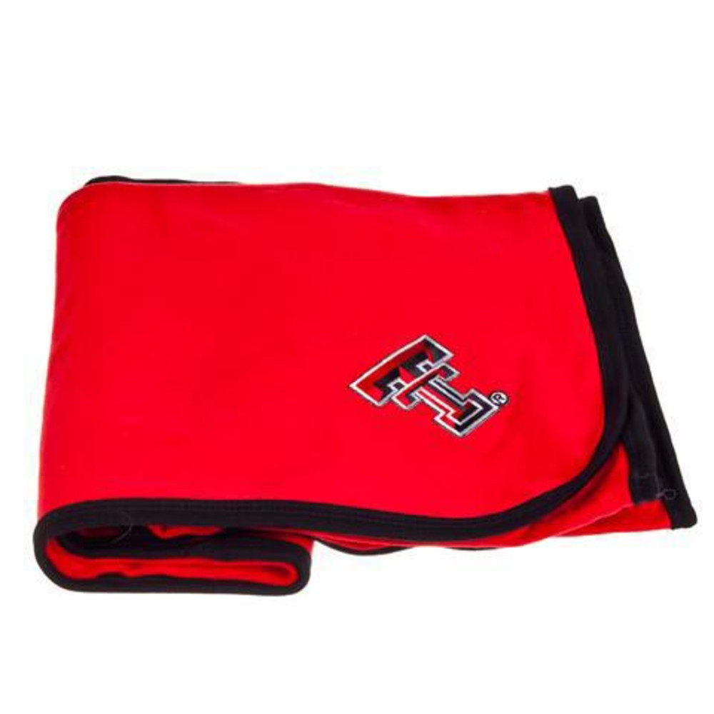 Texas Tech Red Raiders Knit Baby Blanket - Image 1