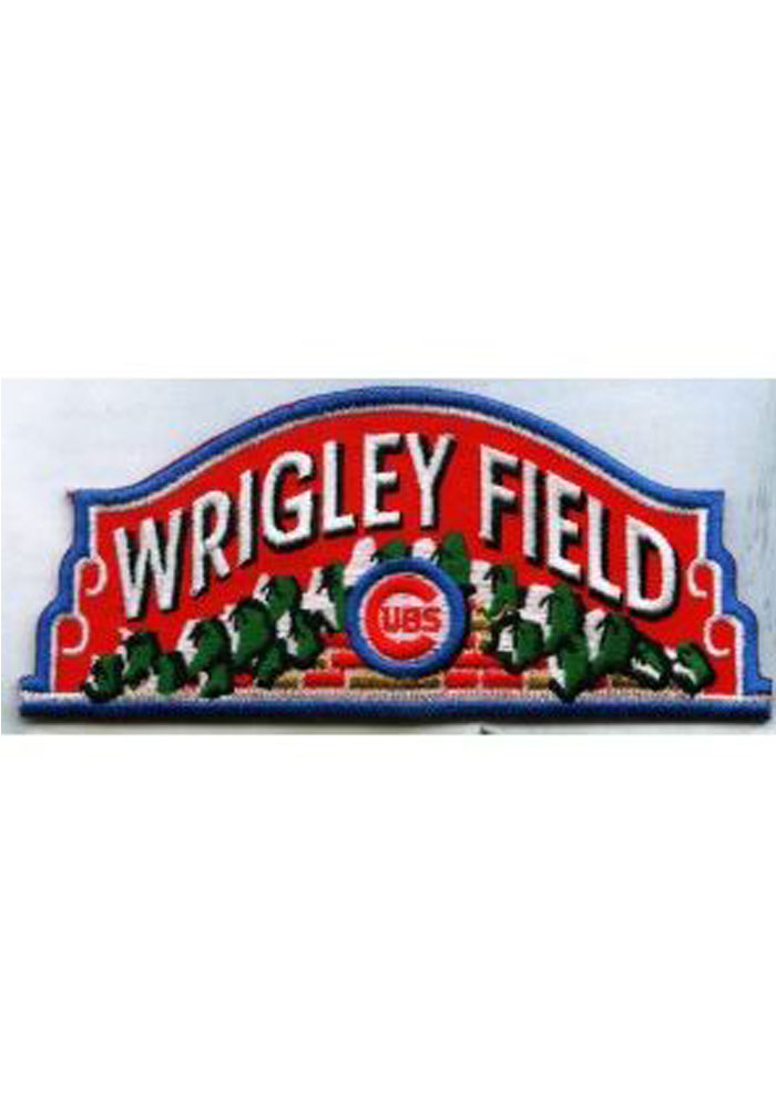 Chicago Cubs Wrigley Field Patch - Image 1