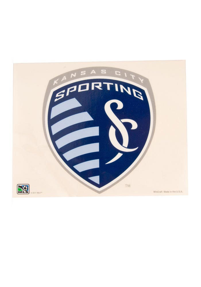 Sporting Kansas City 5x6 Multi-Use Auto Decal - Blue