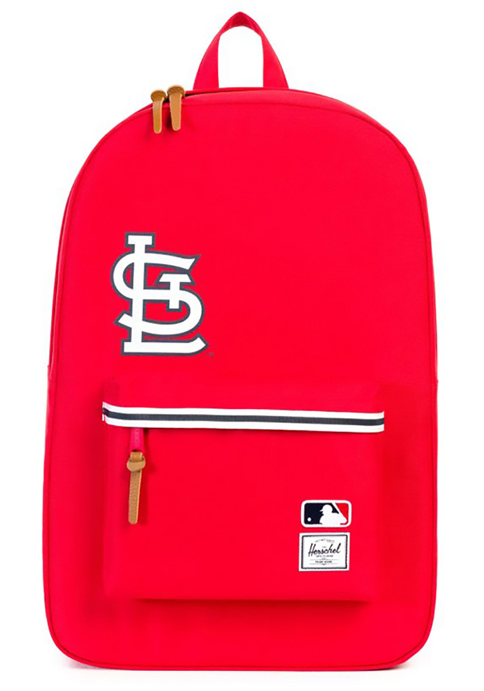 Herschel Supply Co St Louis Cardinals Red Heritage Backpack - Image 3