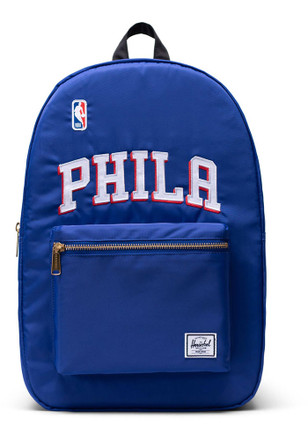 b9d8d3b2b73b Herschel Supply Co Philadelphia 76ers Blue Flight Satin Backpack