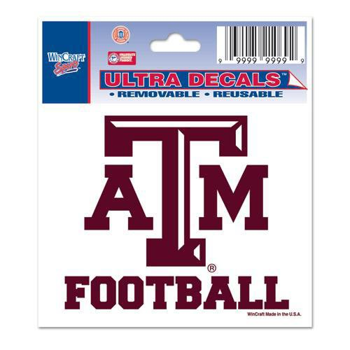 Texas A&M Aggies 3x4 Decal - Image 1